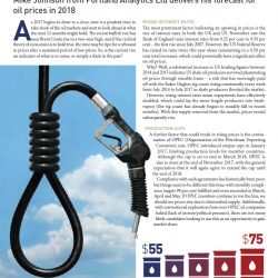 2018 Oil Price Forecast